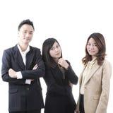 Three asian business Royalty Free Stock Photos