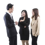 Three asian business Stock Photography