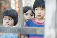 Three Asian children. Stock Photography
