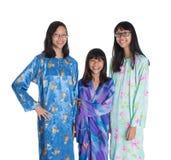 Three Asian Malay Teenage Sisters VII Royalty Free Stock Image