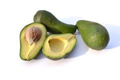 Three avocadoes Royalty Free Stock Photo