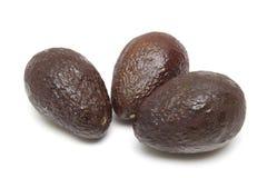 Three avocados Stock Photography