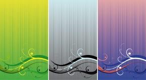 Three backgrounds Stock Photo