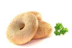 Three bagel Royalty Free Stock Photo