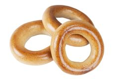 Three bagels Royalty Free Stock Photo