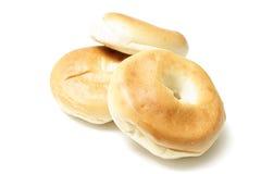 Three bagels Royalty Free Stock Photos