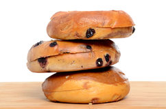 Three Bagels Stock Photos