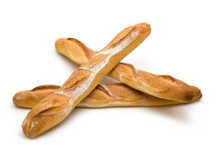 Three baguette Royalty Free Stock Photo
