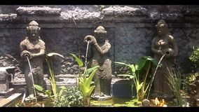 Three Bali fountain Royalty Free Stock Photo