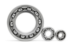 Three ball bearings Royalty Free Stock Photo