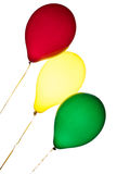 Three balloons Royalty Free Stock Images