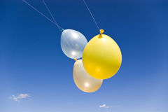 Three balloons Stock Images