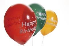 Three balloons, close-up Royalty Free Stock Image