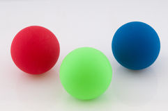 Three Balls Royalty Free Stock Image