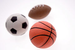 Three balls Royalty Free Stock Photos