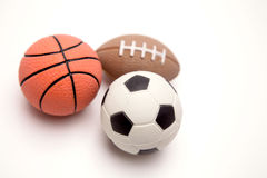 Three balls Stock Photos