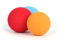 Three balls Stock Photo
