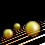 Three Balls Royalty Free Stock Photography