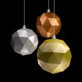 Three Balls Stock Image
