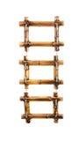 Three bamboo photo frames Stock Image
