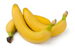 Three bananas Royalty Free Stock Photography