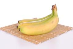 Three bananas Stock Photo