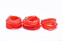 Rubber Band. royalty free stock image