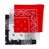 Three bandana Royalty Free Stock Photos