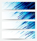Three banners Abstract Stock Photos