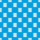 Three banners pattern seamless blue Royalty Free Stock Photo