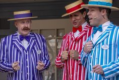 Three Barbershop Singers at Disneyland
