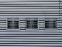 Three barred windows Royalty Free Stock Photography