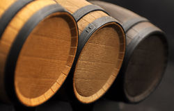 Three barrels Royalty Free Stock Photos
