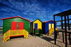Three bathing Boxes Stock Image