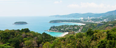 Phuket panorama view Royalty Free Stock Photo