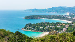 Three bay at Phuket Thailand Stock Photo