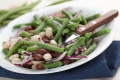 Three bean salad Royalty Free Stock Image