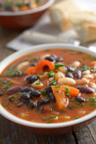 Three bean soup Royalty Free Stock Photo
