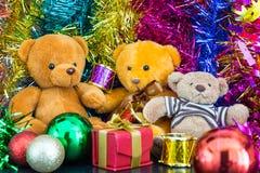 Three bear dolls Royalty Free Stock Photography