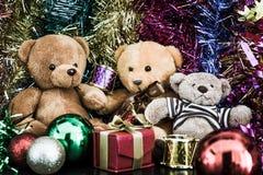 Three bear dolls Royalty Free Stock Photo