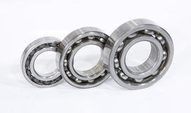 Three bearings Stock Images