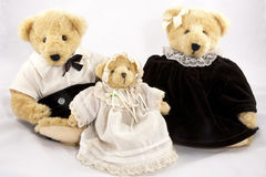 Three Bears Royalty Free Stock Images