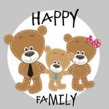 Three bears Royalty Free Stock Photo