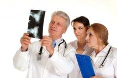 Three Beautiful doctor standing Stock Photo