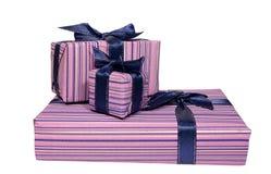 Three beautiful gifts Royalty Free Stock Photo