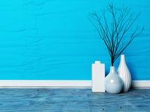 Three beautiful vases Stock Image