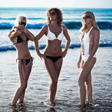 Three beautiful woman Stock Image