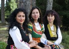 Traditional Bulgarian Folklore Stock Photos