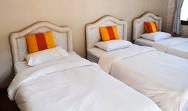 Three bed hotel Stock Photo