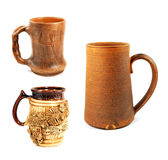 Three beer cup Stock Photography